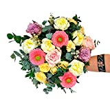 Ramo de Peonías Zurich - Flores RECIÉN CORTADAS y NATURALES de Gran Tamaño - ENTREGA EN 24h con Dedicatoria Personalizable Gratuita - FLORES FRESCAS PARA DEDICAR