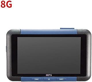 3 inch Screen Video Music MP5 Player 8GB Slim LCD Screen Music Media Player FM Radio Recorder E-Book Reader