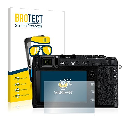 BROTECT Panzerglas Schutzfolie kompatibel mit Fujifilm X-E3 - AirGlass, extrem Kratzfest, Anti-Fingerprint, Ultra-transparent