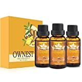 Ownest 3 Pack Ginger Massage Oil,100% Pure Natural Lymphatic Drainage Ginger Oil,SPA Massage...