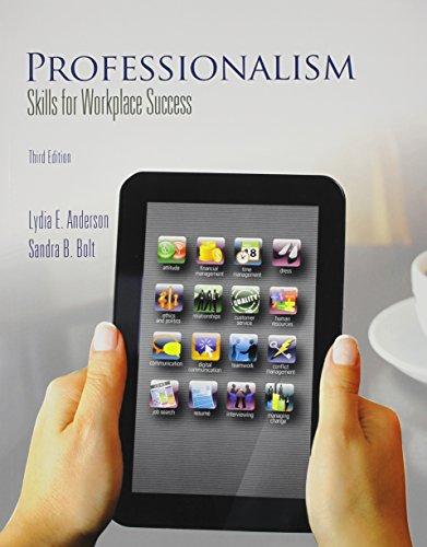 Professionalism: Skills for Workplace Success Plus NEW MyStudentSuccessLab with Pearson eText -- Access Card Package (3r