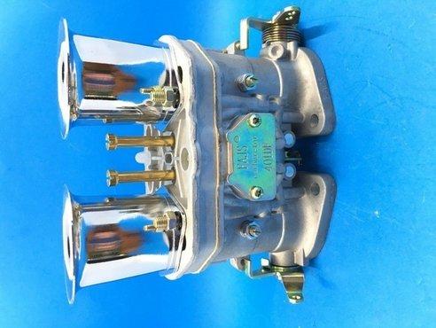 GOWE Carburador para 2 piezas / lote nuevo 40 IDF 40IDF Carburador Carby OEM Carburador + bocinas de aire de repuesto para Solex Dellorto Weber EMPI
