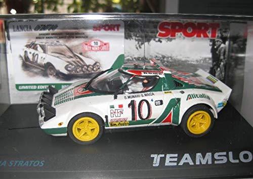 Fly SCALEXTRIC Lancia Stratos ALITALIA EDICION NUMERADA Sport DE Team Slot