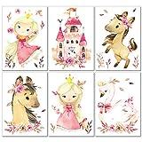 LALELU-Prints | A4 Bilder Kinderzimmer Poster | Kleine