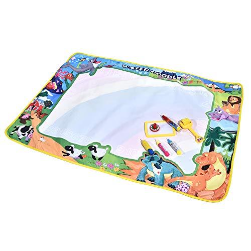 LZKW Wasserziehspielzeug, Wasserziehbrett, Kinder Kinderspielzeug ungiftig Einfach zu bedienen Kultivieren Sie die Fantasie und Kreativität der Kinder für Kinder zu Hause