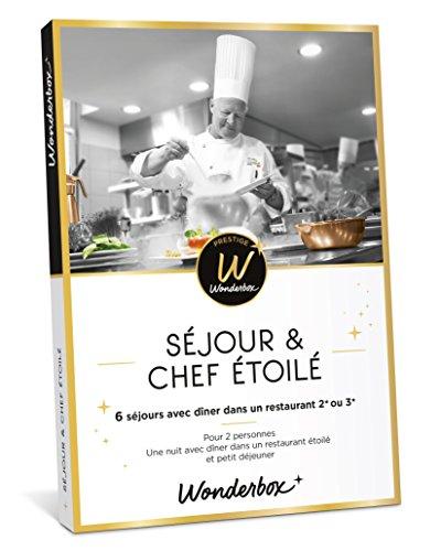 Coffret Wonderbox Prestige Séjour & chef étoilé