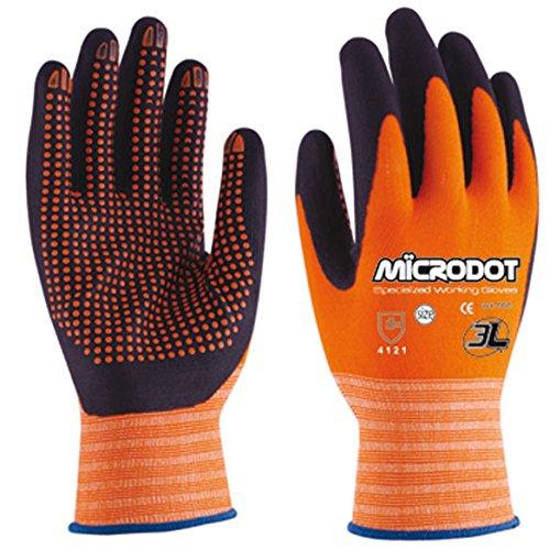 3L Internacional. Microdot T-9 - Guante mecanico l09 puntos dot-t microdot nyl na/ne 3l