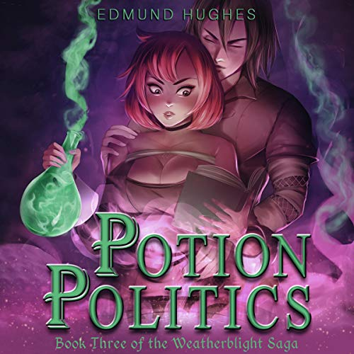 Potion Politics audiobook cover art