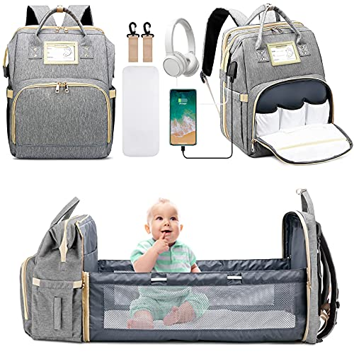 7 in 1 Diaper Bag Backpack with ...