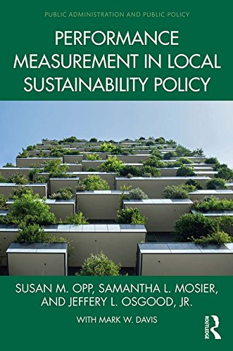 Download Performance Measurement In Local Sustainability Policy (Public Administration And Public Policy) (English Edition) 