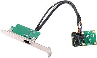 محول ميني بي سي آي إكسبريس إلى جيجابت إيثرنت RJ45 من كابلك، محول 10/100/1000 وحدة تحكم الشبكة المحلية السلكية