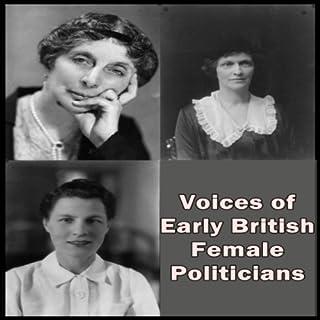 Couverture de Voices of Early British Female Politicians