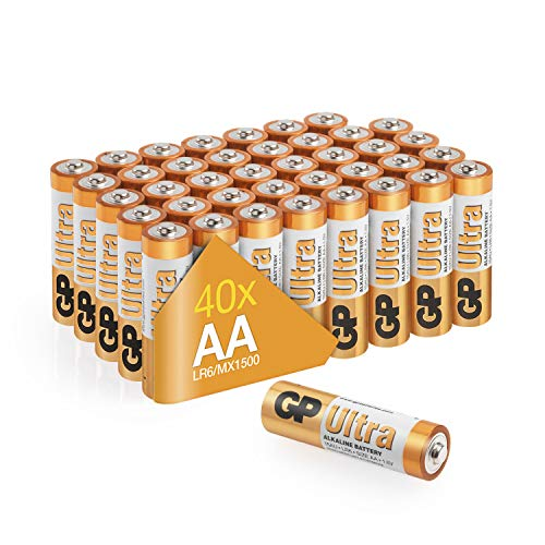 AA Batteries pack of 40 by GP AA...