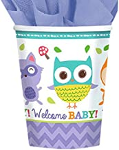 Amscan Woodland Welcome Paper Cups - Multi Color