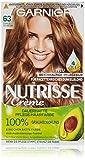 Garnier Nutrisse Creme Coloration Dunkles Goldblond 63 / Färbung für Haare für permanente...