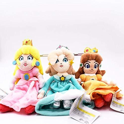 XINGAN Costume en Coton Super Mario 24 cm Peach Daisy Rosalina Princesse Mario Peluche Poupée pour Filles Livraison Gratuite