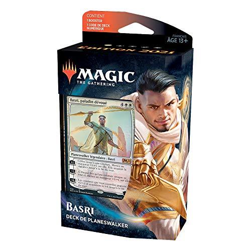 Magic: The Gathering- Deck de planeswalker Basri, Paladin dedicado, edición de Base 2021