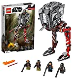 LEGO 75254 Star Wars Asaltador AT-ST, Juguete de Construcción para Niños a Partir de 8 años con 4 Mini Figuras y 4 Armas
