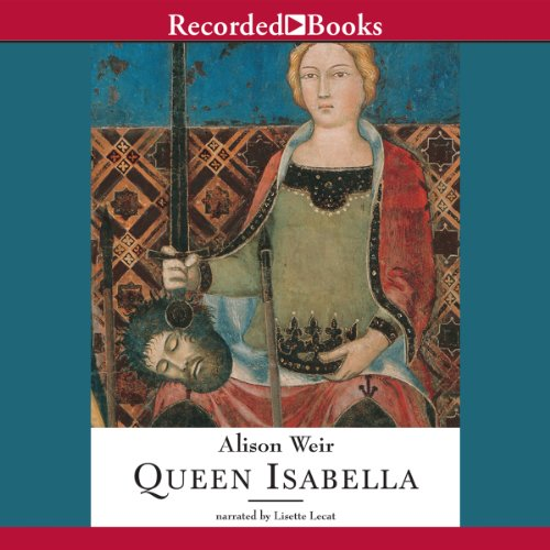 Queen Isabella audiobook cover art