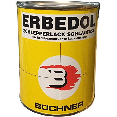 FENDT GRÜN 6350 Büchner Erbedol Kunstharzlack 750ml 919 3853