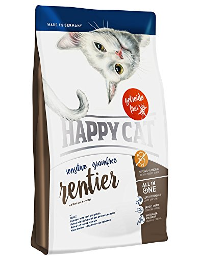 Happy Cat Grainfree Rentier, 1er Pack (1 x 1.4 kg)