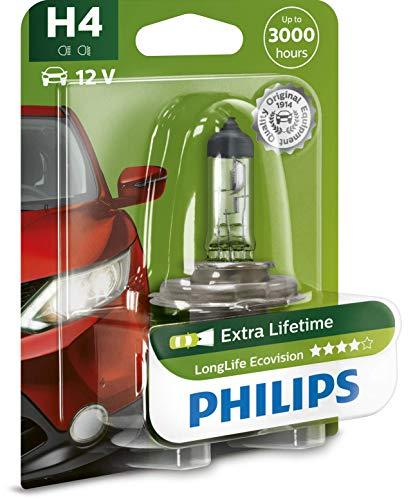 Philips LongLife EcoVision H4 Globe