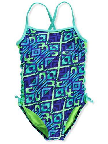Breaking Waves Girls' 1-Piece Swimsuit - Multi, 7