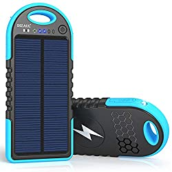 A portable charger is a necessity for every traveler, and this one is solar powered!