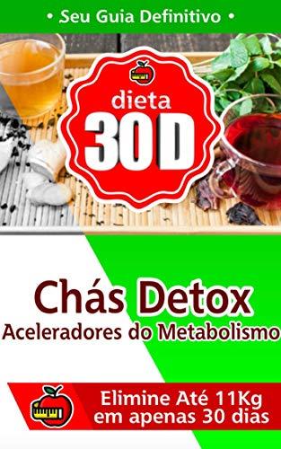 Chás Detox Aceleradores de Metabolismo: Elimine até 11 Quilos em 30 Dias