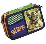 ASTUCCIO 3 ZIP CON CORREDO WWF Fantasia: Tiger