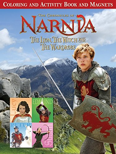 The Lion, the Witch and the Wardrobe: Coloring and Activity Book and Magnets (Chronicles of Narnia)