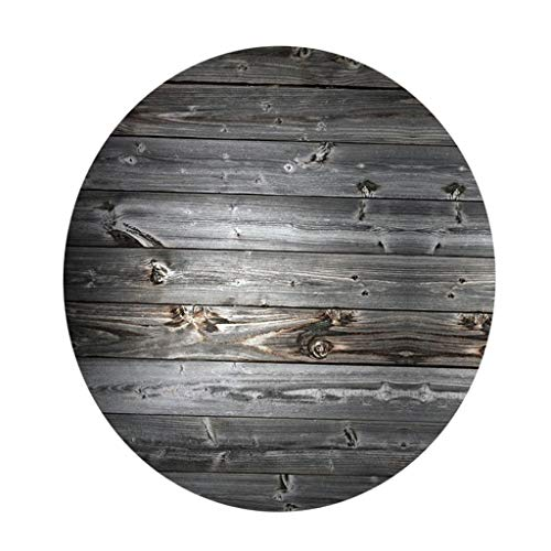 Mantel Redonda, Paño de Mesa Antimanchas Poliéster para Casa Restaurantes - i, 120 cm
