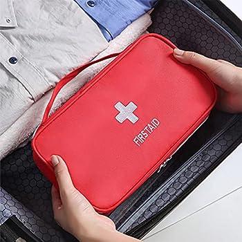 Trousse de premiers soins de voyage portable Mini sac médical Sac de rangement pour sac médical vide
