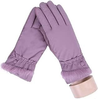 1 Pack (1 Pair) Women Soft Plush Winter Gloves Warm Driving Touch Screen Cycling Unisex Men Girls Toddler Perfect Popular Extreme Gym Baseball Golf Plus Wrist Strap Dryer Glove