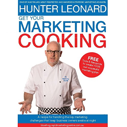 Get Your Marketing Cooking audiobook cover art