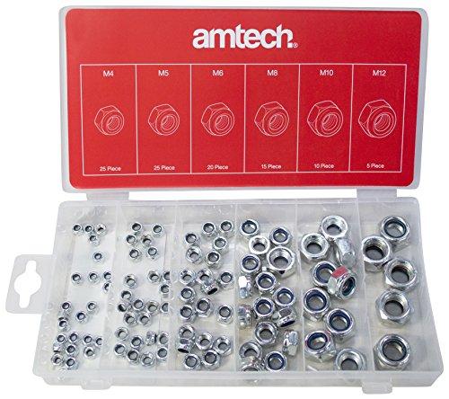 Am-Tech - Dadi di sicurezza, 100 pezzi