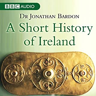 A Short History of Ireland audiobook cover art
