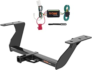 CURT Class 2 Trailer Hitch Bundle with Wiring for 2014-2016 Subaru Forester - 12100 & 56040