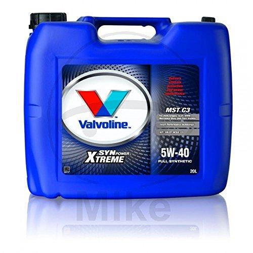 Motoröl 5W40 MST C3 20 Liter SYNPOWER Valvoline