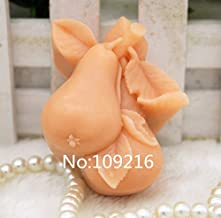 Creativemoldstore 1pcs Pear (zx062) Craft Art Silicone Soap Mold Craft Molds DIY Handmade Soap Mould