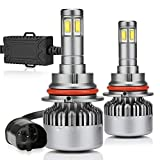 14000LM 9004 Led Headlight Bulb Hi lo Beams 100W HB1 6000K 4 Sides Super Bright Conversion Kits Car Truck Motorcycle Lamps ZDATT