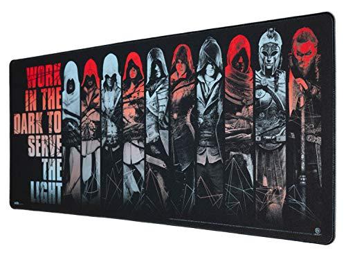 ERIK - Alfombrilla de ratón XL Assassins Creed, 80x35 cm