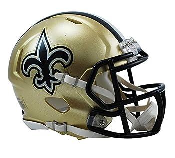 Riddell NFL New Orleans Saints Speed Mini Football Helmet