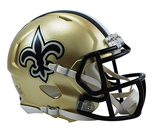 Riddell NFL New Orleans Saints Speed Mini Football Helmet
