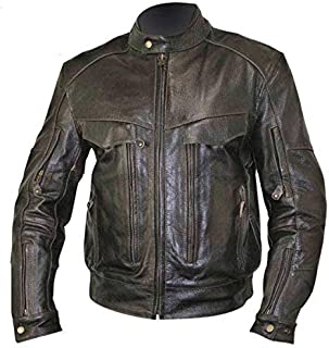 Best street legal brand leather motorcycle jacket Reviews