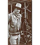 Tin Sign John Wayne Signature BLECHSCHILD USA GROß S1417