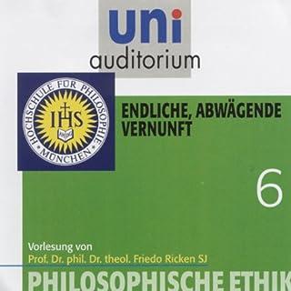 Endliche, abwägende Vernunft (Uni-Auditorium) Titelbild