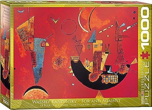 EuroGraphics Mit und Gegen by Kandinsky 1000 Piece Puzzle by EuroGraphics