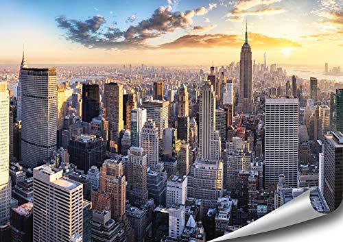 ARTBAY New York Poster HD XXL - 118,8 x 84 cm - Manhattan, New York, Stati Uniti d'America | qualità Superiore