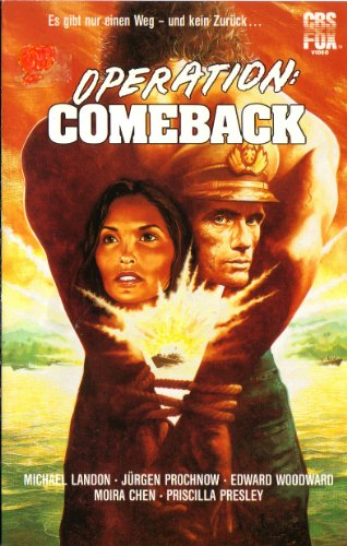 Operation: Comeback - In den dunklen Fluten des Mekong / Liebe ist unendlich / Passion and Valor / Love is forever [VHS]